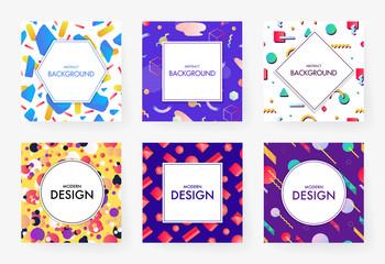 Colorful geometric covers set.