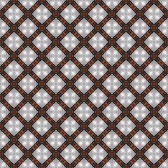 Earth Tones Abstract Seamless Pattern Illustration