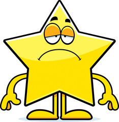 Sad Cartoon Star