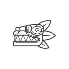 Quetzalcoatl Dibujo Facil