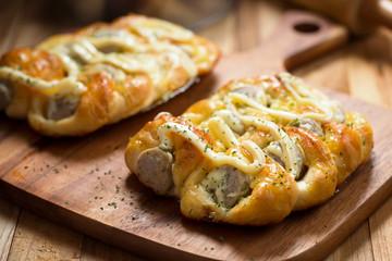 italian sausage bread