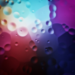 colorful oil drops background