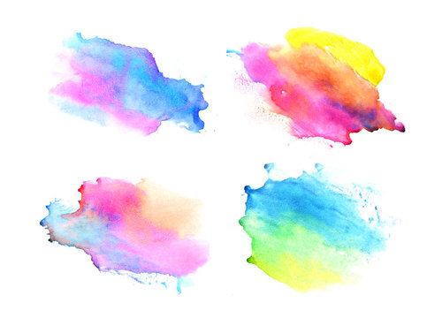 Watercolor backgrounds. Beautiful abstraction