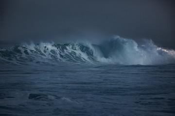 Storm water in the ocean