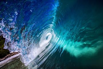 Ocean wave inside