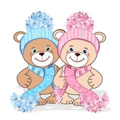 Teddy bear in hat
