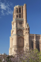 Tower of the Albi Cathedral