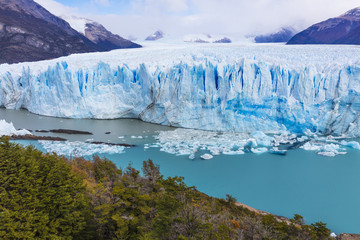 Printed kitchen splashbacks Glaciers The global warming problem.