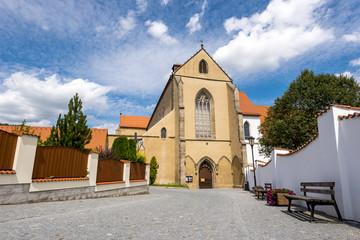 Monastery Zlata Koruna and chapel Andelu straznych, South Bohemia, Czech Republic