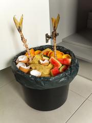 Biodegradable organic waste