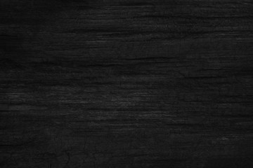black wood background texture table top view. Blank copy space for design