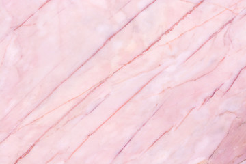Pink marble texture background. surface blank for design