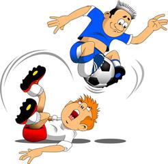 soccer acrobat