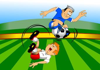 soccer super acrobat