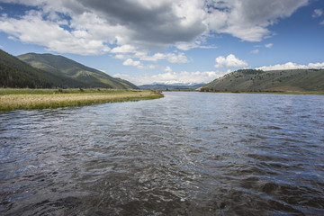 Big Hole River scenic, Montana.