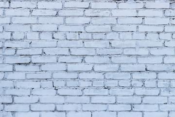 Photo texture white brick wall