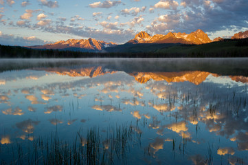 Little Redfish Lake. Sawtooth National Recreation Area, Idaho, USA.