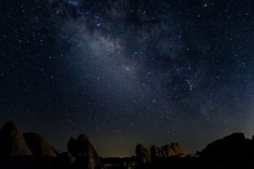 Milky Way Boulders Low