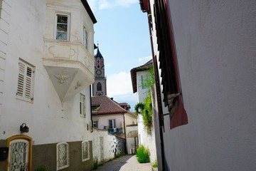 Kirche in Meran in Südtirol in Norditalien