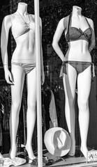 Mannequin displaying sexy Bikini