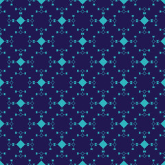Aztec seamless pattern in simple style