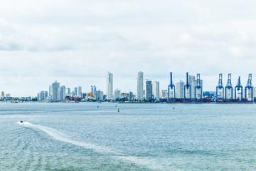 Skyline of Cartagena, Columbia