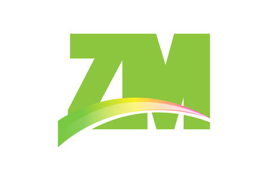 ZM Initial Logo for your startup venture