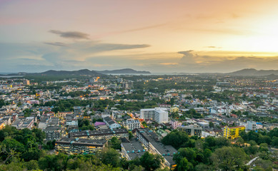 Khoa Rang View Point Phuket Thailand