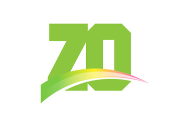 ZO Initial Logo for your startup venture