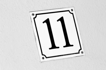 Hausnummer elf