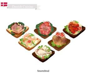 Delicious Smorrebrod, The National Dish of Denmark