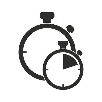 Stopwatch vector icon.