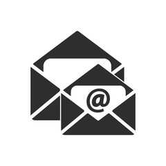 Mail vector icon.
