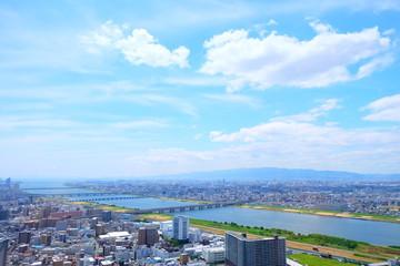 大阪の都市風景