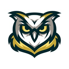 Owl Vector Logo Illustration