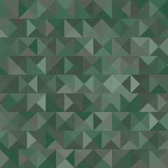 Triangle camouflage background vector