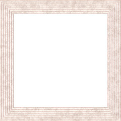 White Weathered Square Wood Photo Painting Picture Frame