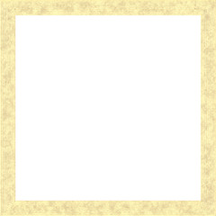 Light Yellow Weathered Square Wood Photo Painting Picture Frame