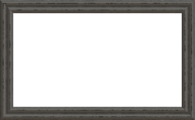 Dark Gray Weathered Wood Photo Painting Picture Frame