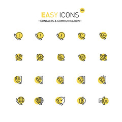 Easy icons 30d Contacts