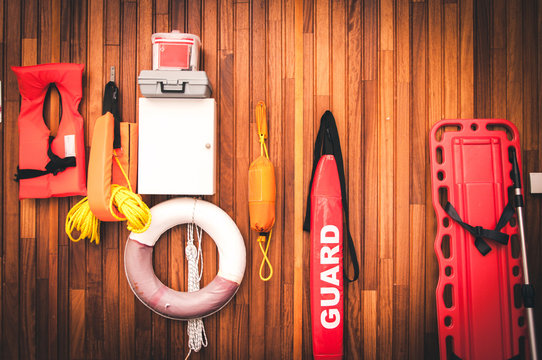lifeguard equipment and rescue equipment for the rescue of drowning