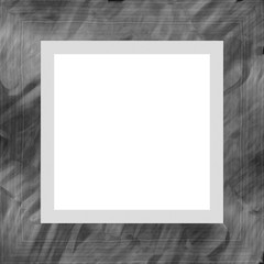 Gray Weathered Square Wood Photo Painting Picture Frame