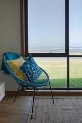 Lounge room of beach house