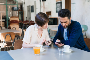 Couple With a Mobile Phone