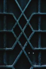 metal garden door