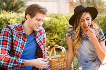 Couple at Picnic