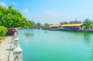 The lake in old Colombo