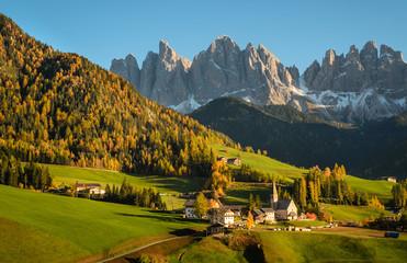 Val di Funes in the Dolomites