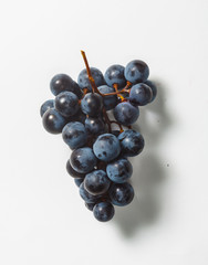 bunch of concord grapes