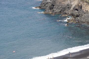 Küste von Puerto de la Cruz auf Teneriffa